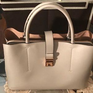 H&M gray city bag